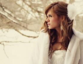 Consigli per la mise della sposa in inverno