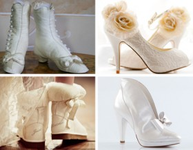 Scarpa classica o spazio all'originalità? Cosa sceglie la sposa d'inverno?