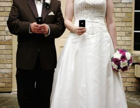 Wedding hi-tech!