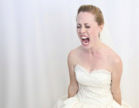 Non fate arrabbiare la sposa!
